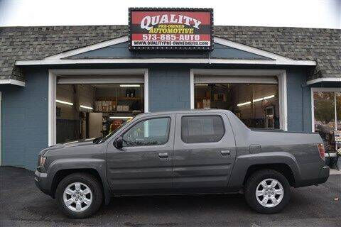 2007 Honda Ridgeline for sale at Quality Pre-Owned Automotive in Cuba MO
