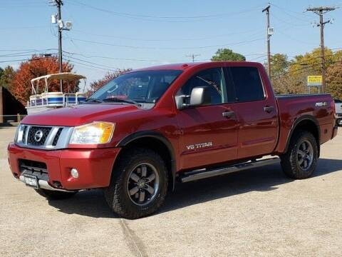 2014 Nissan Titan for sale at Tyler Car  & Truck Center in Tyler TX