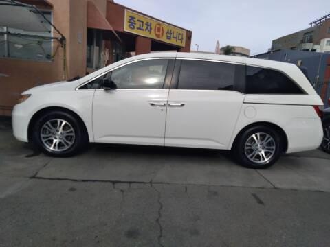 2012 Honda Odyssey for sale at Western Motors Inc in Los Angeles CA