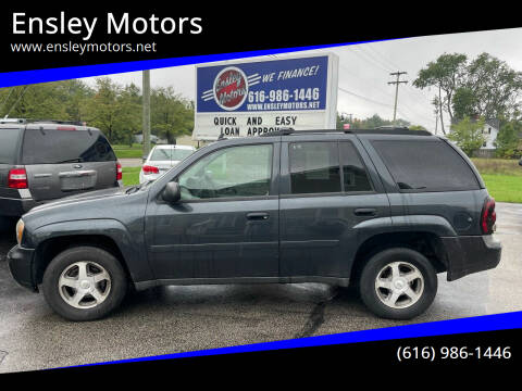 2006 Chevrolet TrailBlazer for sale at Ensley Motors in Allendale MI