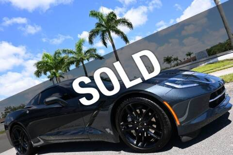 2019 Chevrolet Corvette for sale at MOTORCARS in West Palm Beach FL