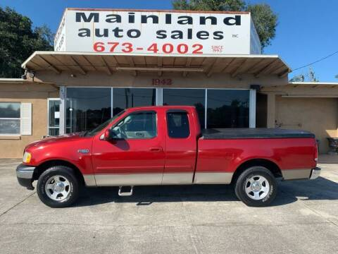 2001 Ford F-150 for sale at Mainland Auto Sales Inc in Daytona Beach FL