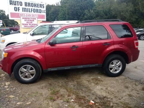 2012 Ford Escape for sale at Auto Brokers of Milford in Milford NH