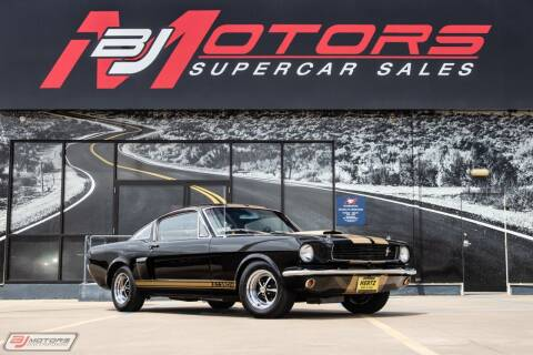 1966 Ford Mustang for sale at BJ Motors in Tomball TX