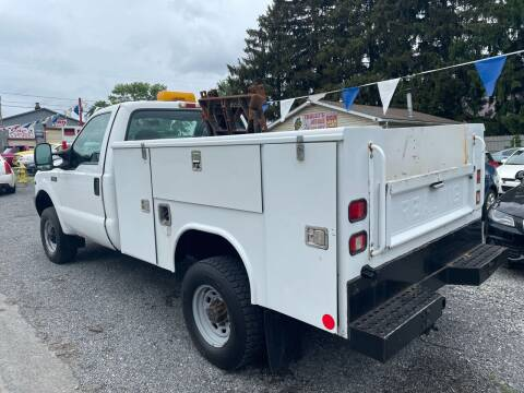 2001 Ford F-250 Super Duty for sale at Trocci's Auto Sales in West Pittsburg PA
