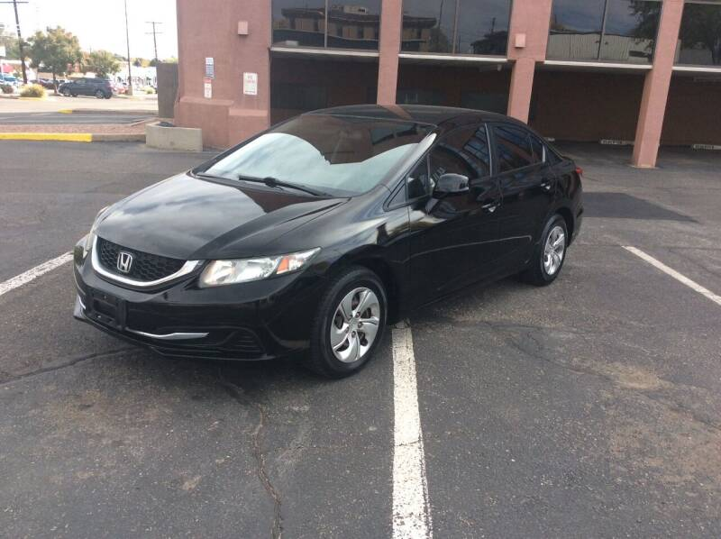 2013 Honda Civic for sale at AROUND THE WORLD AUTO SALES in Denver CO
