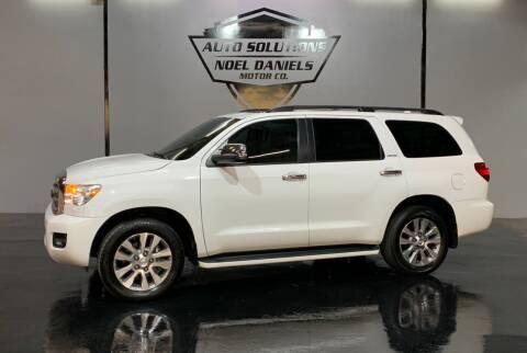 2016 Toyota Sequoia for sale at Noel Daniels Motor Company in Ridgeland MS