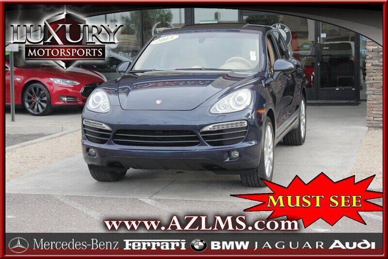 2013 Porsche Cayenne for sale at Luxury Motorsports in Phoenix AZ