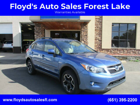 2014 Subaru XV Crosstrek for sale at Floyd's Auto Sales Forest Lake in Forest Lake MN