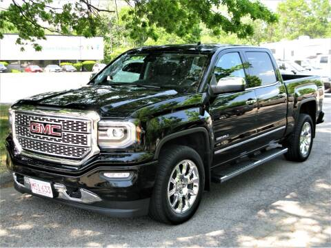 2018 GMC Sierra 1500 for sale at The Car Vault in Holliston MA