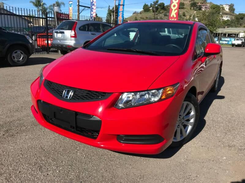 2012 Honda Civic for sale at Vtek Motorsports in El Cajon CA