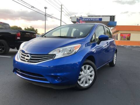 2015 Nissan Versa Note for sale at LATINOS MOTOR OF ORLANDO in Orlando FL