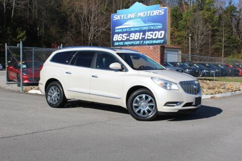 2013 Buick Enclave for sale at Skyline Motors in Louisville TN