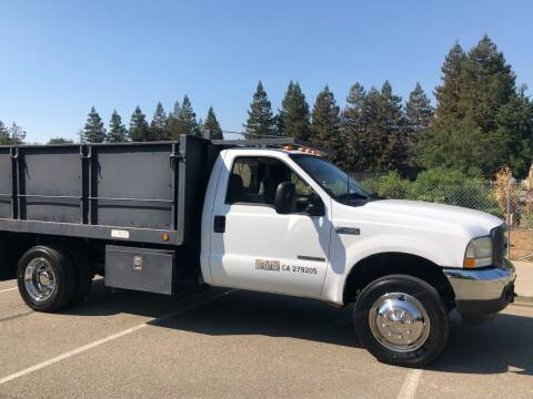 2002 Ford F-450 Super Duty for sale at California Diversified Venture in Livermore CA