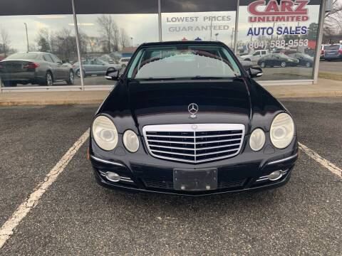 2007 Mercedes-Benz E-Class for sale at Carz Unlimited in Richmond VA