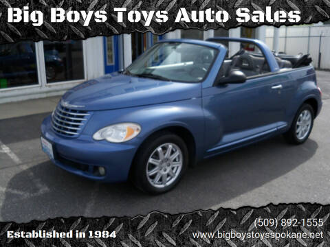 2007 Chrysler PT Cruiser for sale at Big Boys Toys Auto Sales in Spokane Valley WA