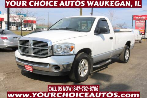 2007 Dodge Ram Pickup 1500 for sale at Your Choice Autos - Waukegan in Waukegan IL