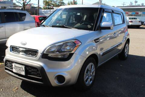2012 Kia Soul for sale at Grasso's Auto Sales in Providence RI