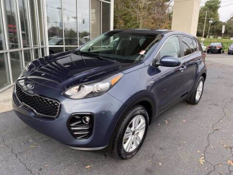 2018 Kia Sportage for sale at Credit Union Auto Buying Service in Winston Salem NC