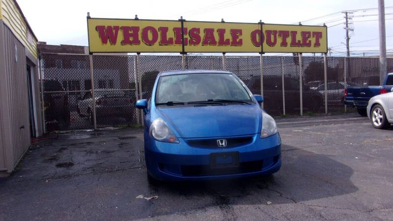 2007 Honda Fit for sale at LONG BROTHERS CAR COMPANY in Cleveland OH