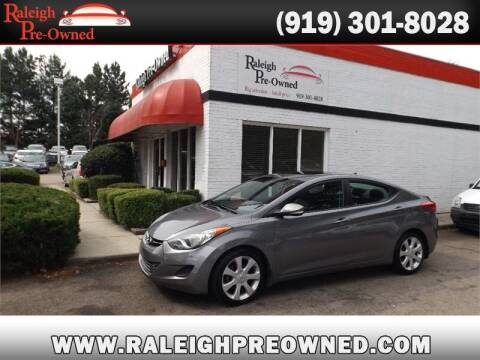 2013 Hyundai Elantra for sale at Raleigh Pre-Owned in Raleigh NC