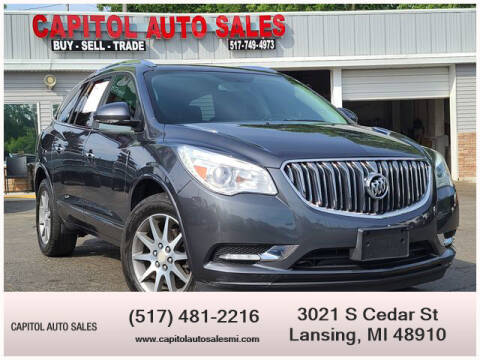 2013 Buick Enclave for sale at Capitol Auto Sales in Lansing MI