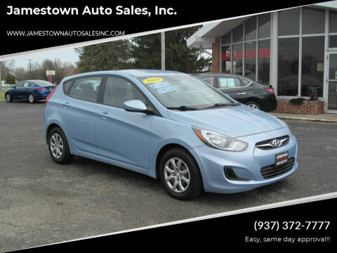 2014 Hyundai Accent for sale at Jamestown Auto Sales, Inc. in Xenia OH