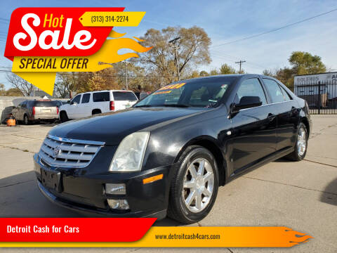 2006 Cadillac STS for sale at Detroit Cash for Cars in Warren MI