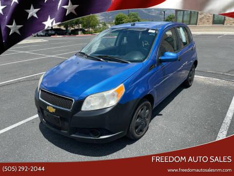 2009 Chevrolet Aveo for sale at Freedom Auto Sales in Albuquerque NM