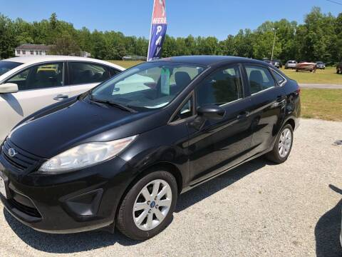 2012 Ford Fiesta for sale at IH Auto Sales in Jacksonville NC