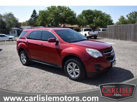 2012 Chevrolet Equinox for sale at Carlisle Motors in Lubbock TX
