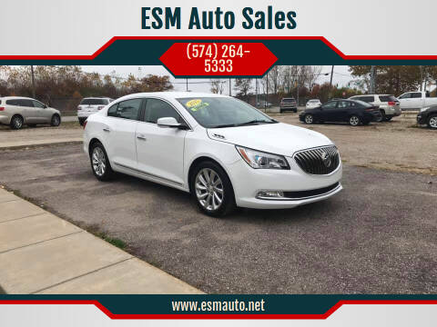 2015 Buick LaCrosse for sale at ESM Auto Sales in Elkhart IN