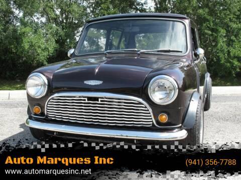 1962 MINI Cooper for sale at Auto Marques Inc in Sarasota FL