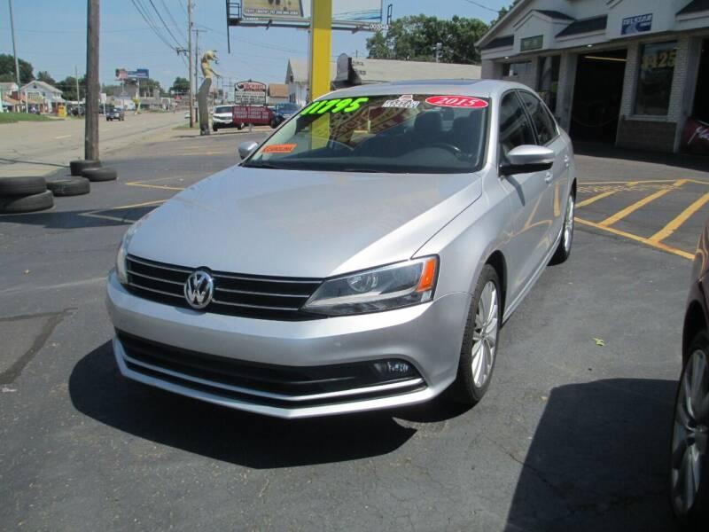 2015 Volkswagen Jetta for sale at GREG'S EAGLE AUTO SALES in Massillon OH