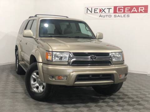 2001 Toyota 4Runner for sale at Next Gear Auto Sales in Westfield IN