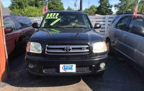 2004 Toyota Sequoia for sale at Klein on Vine in Cincinnati OH