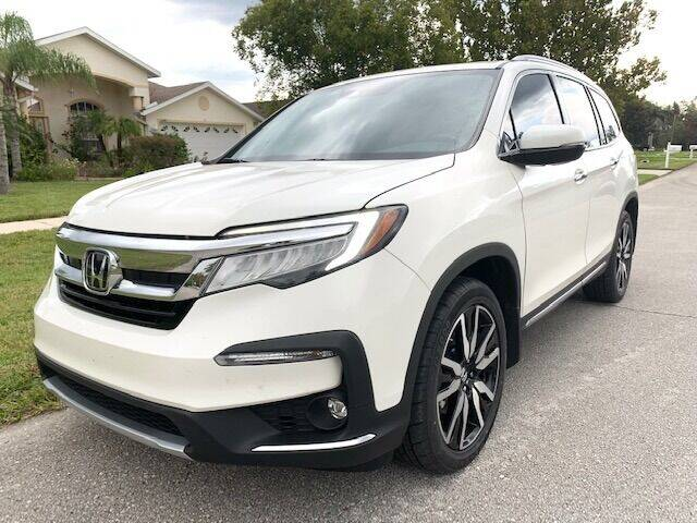 2019 Honda Pilot for sale at CLEAR SKY AUTO GROUP LLC in Land O Lakes FL