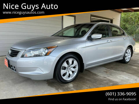 2009 Honda Accord for sale at Nice Guys Auto in Hattiesburg MS