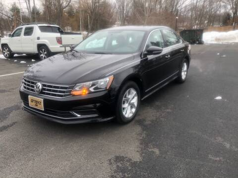 2017 Volkswagen Passat for sale at GT Toyz Motor Sports & Marine - GT Toyz Powersports in Clifton Park NY