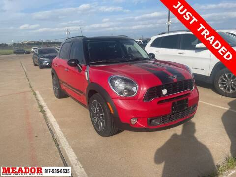 2012 MINI Cooper Countryman for sale at Meador Dodge Chrysler Jeep RAM in Fort Worth TX