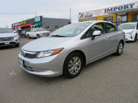 2012 Honda Civic for sale at Import Auto World in Hayward CA