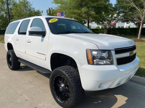 2011 Chevrolet Suburban for sale at UNITED AUTO WHOLESALERS LLC in Portsmouth VA