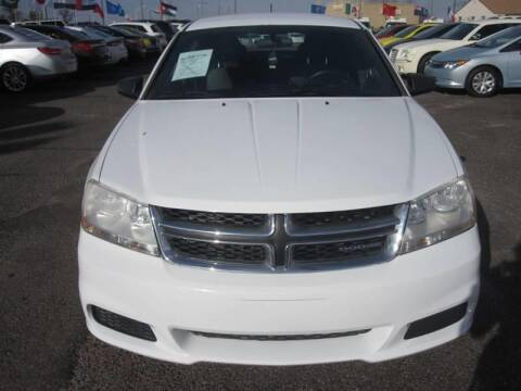 2012 Dodge Avenger for sale at T & D Motor Company in Bethany OK