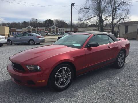 2010 Ford Mustang for sale at Wholesale Auto Inc in Athens TN