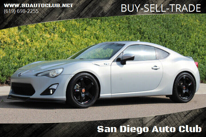 2013 Scion FR-S for sale at San Diego Auto Club in Spring Valley CA