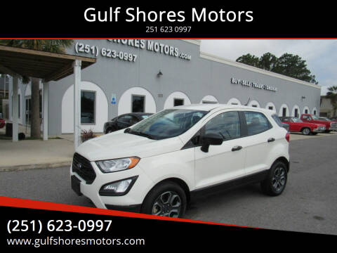 2020 Ford EcoSport for sale at Gulf Shores Motors in Gulf Shores AL