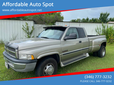 2001 Dodge Ram Pickup 3500 for sale at Affordable Auto Spot in Houston TX