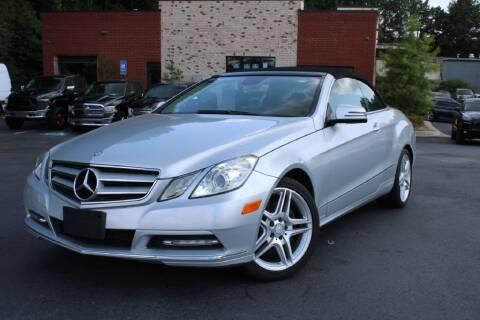 2013 Mercedes-Benz E-Class for sale at Atlanta Unique Auto Sales in Norcross GA