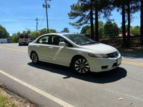 2009 Honda Civic for sale at THE AUTO FINDERS in Durham NC