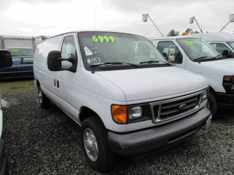 2007 Ford E-Series Cargo for sale at Royal Auto Sales, LLC in Algona WA